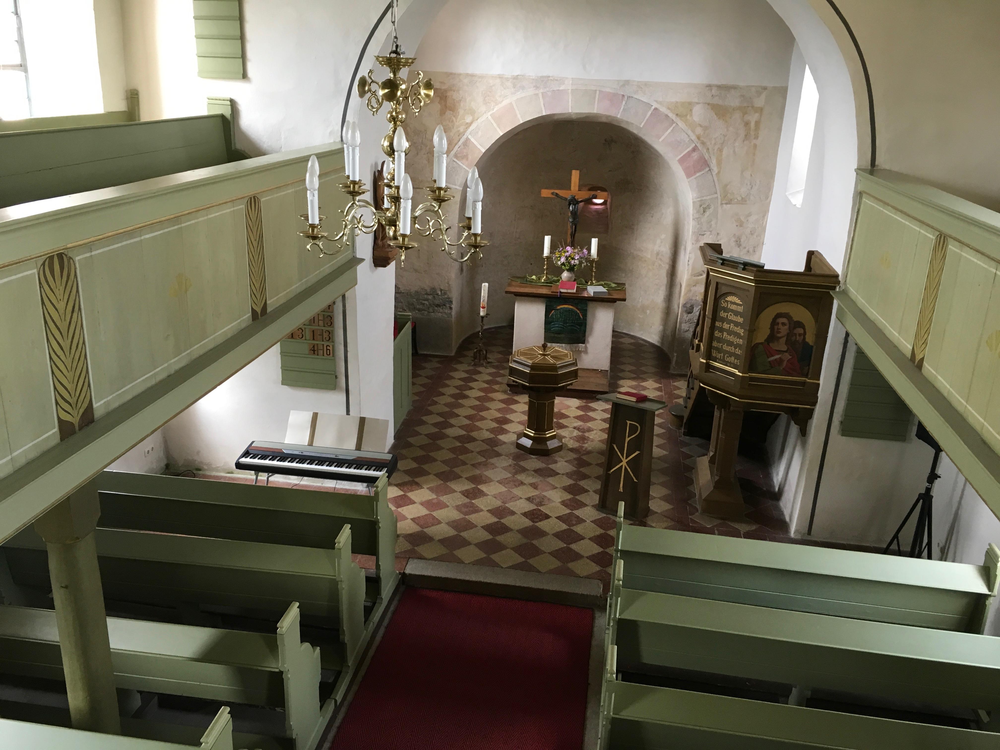 Gottesdienst in Schönbrunn